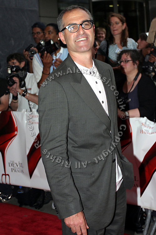 David Frankel, the director, posing before entering the 'The Devil Wears Prada' premiere at the AMC LOEWS in Lincoln Square, New York, USA, on Monday, June 20, 2006. **ITALY OUT**