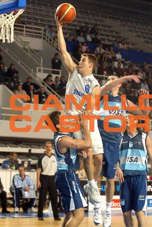 DESCRIZIONE : MAR DEL PLATA FIBA UNDER 21 WORLD CHAMPIONSHIP FOR MEN CAMPIONATO DEL MONDO UNDER 21 MASCHILE<br />GIOCATORE : ZAGORC<br />SQUADRA : SLOVENIA<br />EVENTO : UNDER 21 WORLD CHAMPIONSHIP FOR MAN CAMPIONATO DEL MONDO UNDER 21 MASCHILE<br />GARA : SLOVENIA-ARGENTINA<br />DATA : 13/08/2005<br />CATEGORIA : TIRO<br />SPORT : Pallacanestro<br />AUTORE : AGENZIA CIAMILLO &amp; CASTORIA/M.Ciamillo