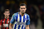 Brighton and Hove Albion midfielder Jamie Murphy (15) during the EFL Cup match between Bournemouth and Brighton and Hove Albion at the Vitality Stadium, Bournemouth, England on 19 September 2017. Photo by Adam Rivers.