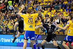 Damir Bicanic of HC PPD Zagreb during handball match between RK Celje Pivovarna Lasko (SLO) and HC PPD Zagreb (CRO) in Group phase of VELUX EHF Men's Champions League 2018/19, November 18, 2018 in Arena Zlatorog, Celje, Slovenia. Photo by Urban Urbanc / Sportida