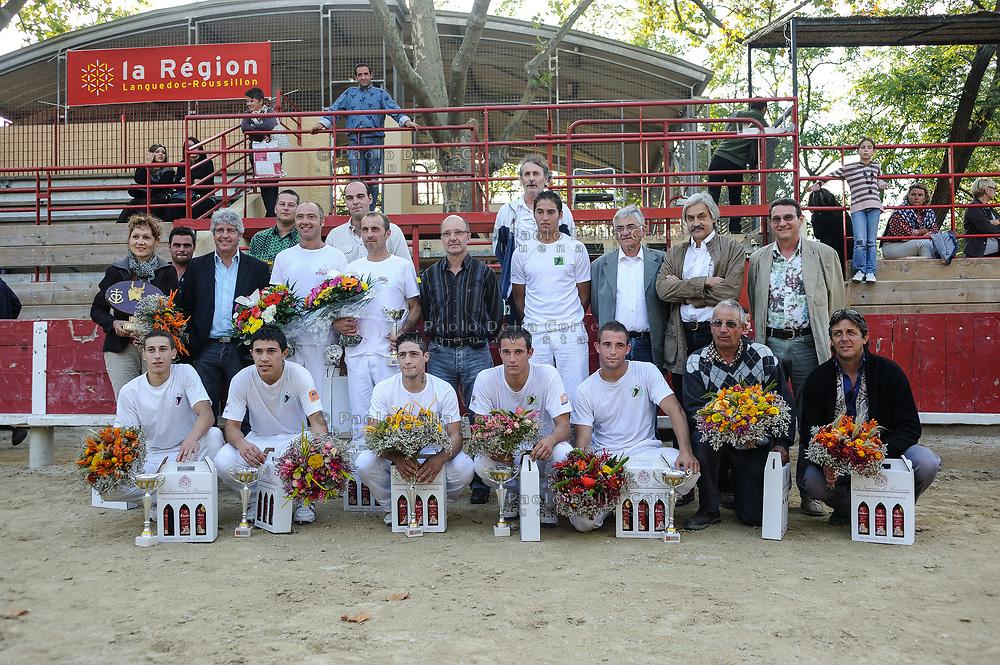 Francia-Camargue. Le premiazioni della course