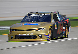 April 27, 2018 - Talladega, AL, U.S. - TALLADEGA, AL - APRIL 27:  Morgan Shepherd, Shepherd Racing Ventures, Chevrolet Camaro Visone RV during practice for the NASCAR Xfinity Series Sparks 300 race on April 27, 2018, at the Talladega Superspeedway in Talladega, AL.  (Photo by David John Griffin/Icon Sportswire) (Credit Image: © David J. Griffin/Icon SMI via ZUMA Press)
