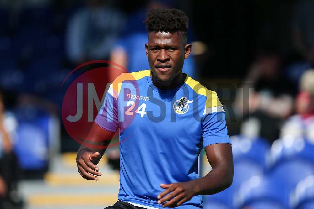 Rollin Menayese of Bristol Rovers during the warm up - Mandatory by-line: Arron Gent/JMP - 21/09/2019 - FOOTBALL - Cherry Red Records Stadium - Kingston upon Thames, England - AFC Wimbledon v Bristol Rovers - Sky Bet League One