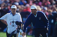Seve Ballesteros<br /> Ryder Cup 1995<br /> Picture Credit:  Mark Newcombe / www.visionsingolf.com