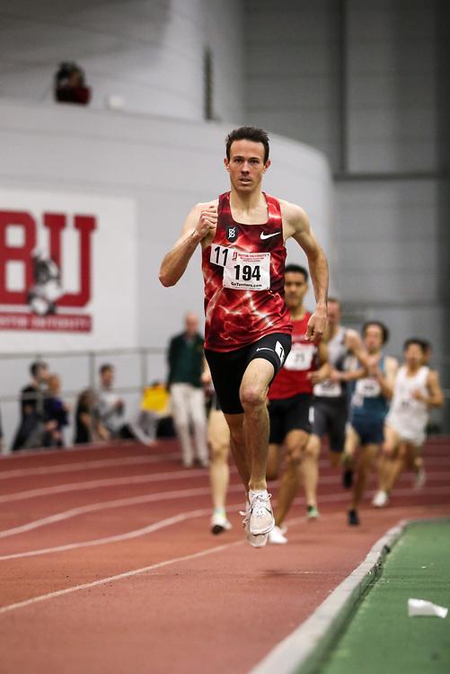 Bruce LeHane Scarlet and White<br /> Indoor Track & Field<br /> mens 1500m, Josh Thompson, Bowerman TC, Nike,