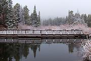 Bridge Reflection, Sprague Lake, Rocky Mountain National Park