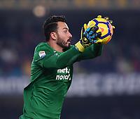 FUSSBALL INTERNATIONAL   SERIE A  15. Spieltag  SAISON 2017/2018 Hellas Verona - Juventus Turin          30.12.2017 Torwart David Nicolas Andrade (Hellas Verona)