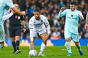 Leeds United forward Tyler Roberts (11) in action during the EFL Sky Bet Championship match between Leeds United and Queens Park Rangers at Elland Road, Leeds, England on 2 November 2019.