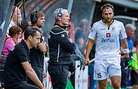 Den Bosch  - coach Shane McLeod (Belgie)  tijdens   de Pro League hockeywedstrijd heren, Nederland-Belgie (4-3).    COPYRIGHT KOEN SUYK