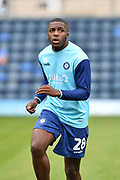 Lincoln City's Nnamdi Ofoborh during the EFL Sky Bet League 1 match between Wycombe Wanderers and Lincoln City at Adams Park, High Wycombe, England on 7 September 2019.