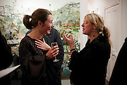 NATASHA LAW; LAURA LOPES, Christmas Salon at Eleven. Eccleston st. London. 9 December 2010. -DO NOT ARCHIVE-© Copyright Photograph by Dafydd Jones. 248 Clapham Rd. London SW9 0PZ. Tel 0207 820 0771. www.dafjones.com.