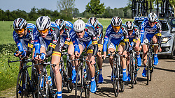 Koga Cycling Team (KOG), Stage 2: Team Time Trial, 62th Olympia's Tour, Netterden, The Netherlands, 13th May 2014, Photo by Pim Nijland / Peloton Photos