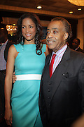 14 April 2010- New York, NY- l to r: Veronica Webb and Rev.Al Sharpton at the Executive Director's Reception hosted by Veronica Webb and Andre Harrell and held at The Central Park East Ballroom, Sheraton New York Hotel on April 14, 2010 in New York City.
