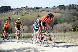 Janneke Ensing (NED) at Strade Bianche - Elite Women 2019, a 136 km road race starting and finishing in Siena, Italy on March 9, 2019. Photo by Sean Robinson/velofocus.com