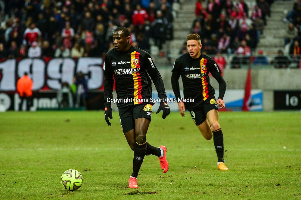 Adamo COULIBALY - 25.01.2015 - Reims / Lens  - 22eme journee de Ligue1<br /> Photo : Dave Winter / Icon Sport *** Local Caption ***