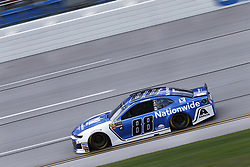 April 27, 2018 - Talladega, Alabama, United States of America - Alex Bowman (88) takes to the track to practice for the GEICO 500 at Talladega Superspeedway in Talladega, Alabama. (Credit Image: © Justin R. Noe Asp Inc/ASP via ZUMA Wire)