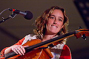 Lyndsay Mac performing at Mountain Stage at North House Folk School Un Plugged X in grand Marais Mn Assorted Musicians and Entertainers