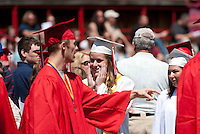 Laconia High School graduation June 9, 2012.