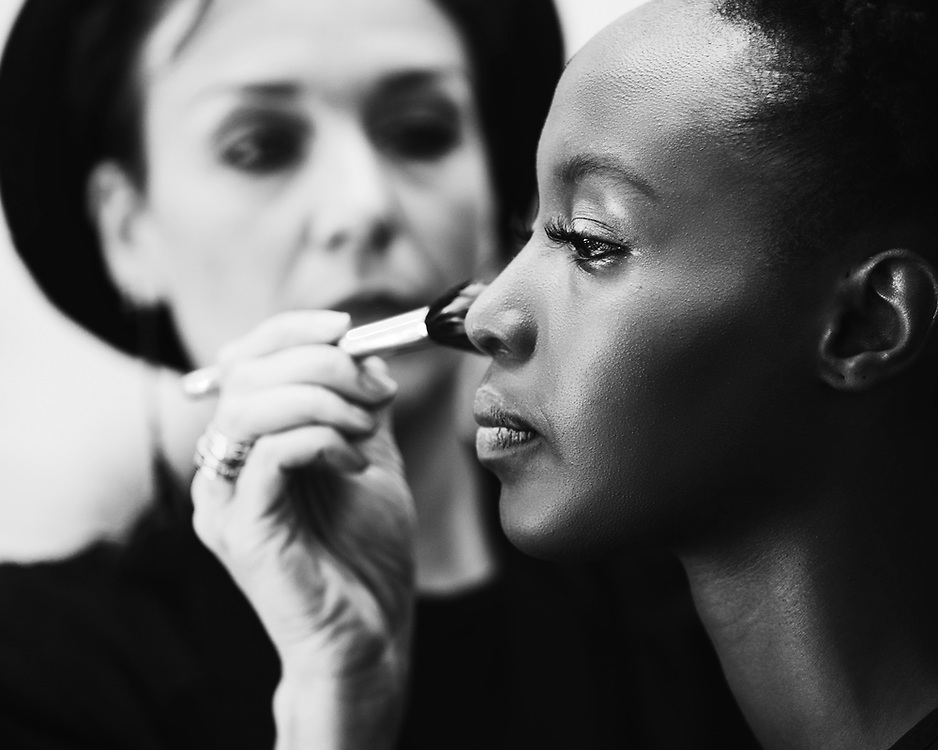 Backstage images at Stockholm Beauty Week **If you plan to purchase more than 2 images, please contact us within to get a better package-price***