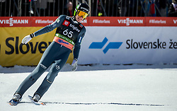 Timi Zajc (SLO) during the Trial Round of the Ski Flying Hill Individual Competition at Day 1 of FIS Ski Jumping World Cup Final 2019, on March 21, 2019 in Planica, Slovenia. Photo by Vid Ponikvar / Sportida