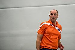 22-09-2017 NED: Training zitvolleybalsters Oranje 2017-2018, Leersum<br /> Nederland bereidt zich voor op het komende EK zitvolleybal / Coach Pim Scherpenzeel