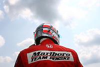 Sam Hornish Jr., Michigan IRL race Firestone Indy 400, Michigan International Speedway, Brookly, MI USA,7/30/2006