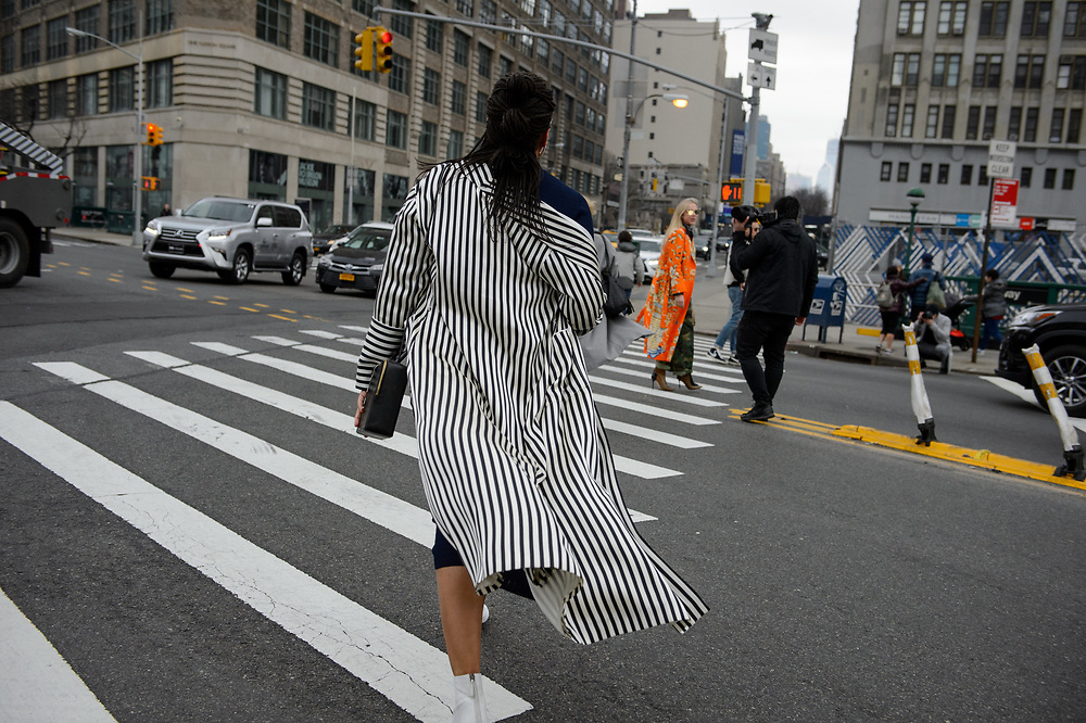 Black and White Stripes, Outside Dion Lee FW2018