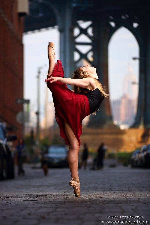 Dance As Art Streets of Dumbo Series with dancer Hannah Bush