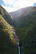 Papalaua Valley, North Shore, Molokai, Hawaii