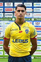 Rayan Senhadji of Sochaux during the FC Sochaux photocall for the season 2017/2018 in Sochaux on September 20th 2017<br /> Photo : Philippe Le Brech / Icon Sport