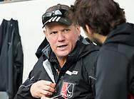 AMSTELVEEN - coach Graham Reid (A'dam)   tijdens Amsterdam-Tilburg, competitie Hoofdklasse hockey heren   (2017-2018) .  COPYRIGHT KOEN SUYK