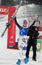20.12.2011, Hermann Maier Piste, Flachau, AUT, FIS Weltcup Ski Alpin, Damen, Slalom Podium, im Bild Maria Hoefl-Riesch (GER, Rang 2) // second place Maria Hoefl-Riesch of Germany on Podium Slalom at FIS Ski Alpine Worldcup at Hermann Maier Pist in Flachau, Austria on 2011/12/20. EXPA Pictures © 2011, PhotoCredit: EXPA/ Johann Groder