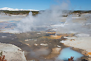 USA, Wyoming, Yellowstone National Park, Norris Geyser Basin
