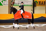 Madeleine Witte Vrees - Vontango B<br /> KNHS Indoorkampioenschappen 2010<br /> © DigiShots
