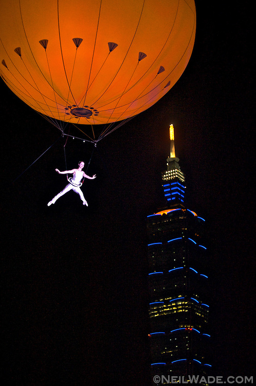 A pre-opening event for the Deaflympics in Taipei, Taiwan, New Substance put on a beautiful, dreamy, circus-like show.