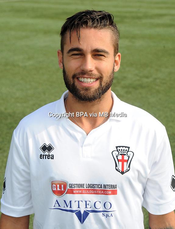 Italian League Serie B_2015-2016 / <br /> ( FC Pro Vercelli ) - <br /> Fausto Rossi