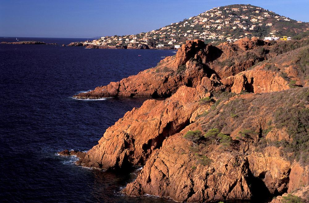 Coast at Agay, Provence Alpes Cote d'Azur, France