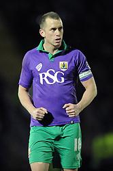 Bristol City's Aaron Wilbraham - Photo mandatory by-line: Dougie Allward/JMP - Mobile: 07966 386802 - 03/03/2015 - SPORT - football - Leyton - Brisbane Road - Leyton Orient v Bristol City - Sky Bet League One