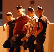 Rockabillies hanging out at Viva Las Vegas weekend. 2006
