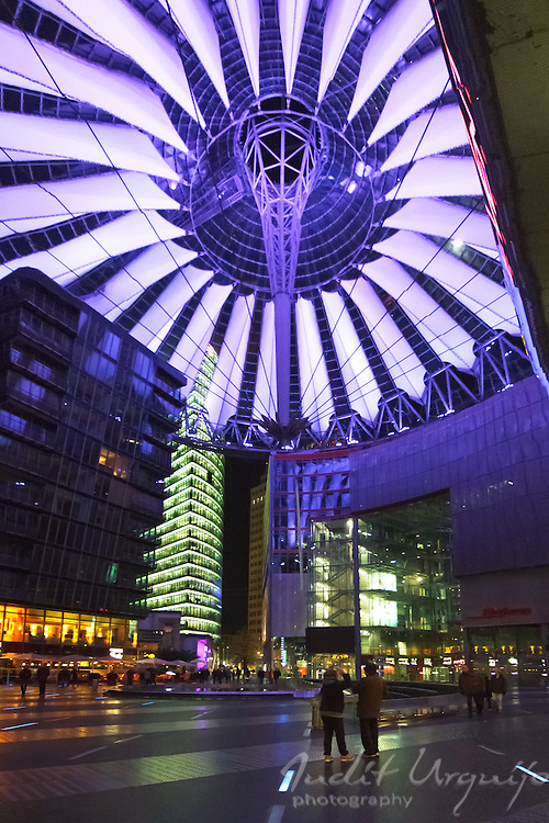 The Sony Center is a Sony-sponsored building complex located at the Potsdamer Platz in Berlin, Germany. It opened in 2000.