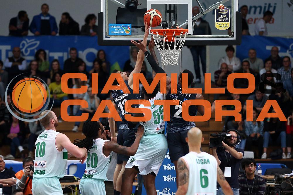 Flaccadori Diego<br /> Dolomiti Energia Trentino vs Sidigas Avellino<br /> Lega Basket Serie A 2016/2017<br /> Trento, 07/05/2017<br /> Foto Ciamillo-Castoria/A. Gilardi