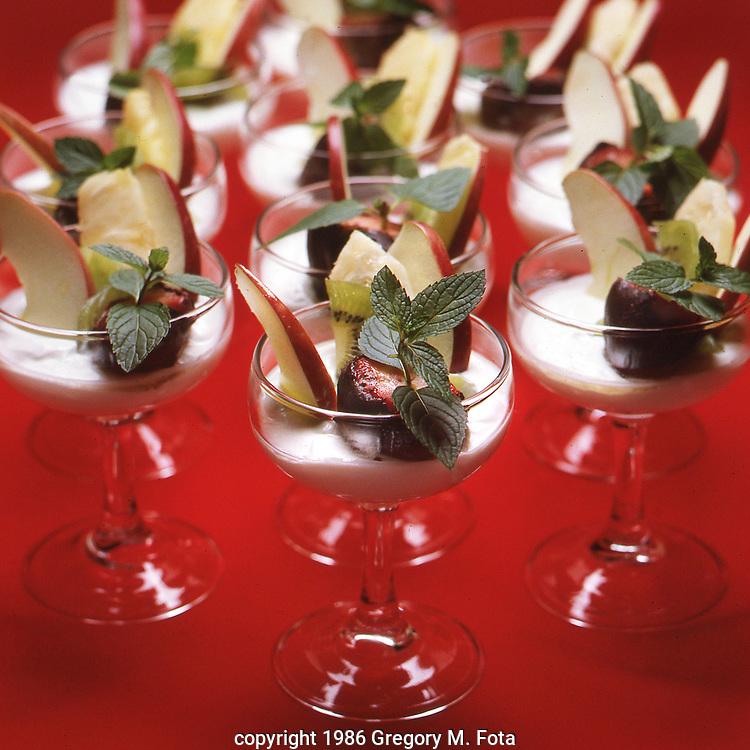 FRUIT DESSERTS --. For Wood Food Co. brochure. 09121986