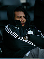 Photo: Steve Bond/Richard Lane Photography. Derby County v Crystal Palace. Coca Cola Championship. 06/12/2008. Injured Derby striker Giles Barnes looks on