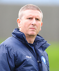 STEVE HEATH MANAGER AFC DUNSTABLE, AFC Dunstable v Marlow FC Evo Stick League South East, Saturday 9th September 2017<br /> Score 2-1:Photo:Mike Capps