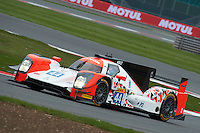 Tor Graves (GBR) / Will Stevens (GBR) / James Jakes (GBR) #44 Manor Oreca 05 Nissan, WEC 6 Hours of Silverstone 2016 at Silverstone, Towcester, Northamptonshire, United Kingdom. April 15 2016. World Copyright Peter Taylor.