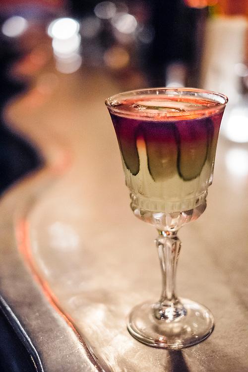 Cucumber Rose at Smalls bar