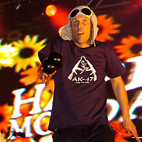 Bez of The Happy Mondays.<br />