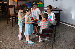 Children in Havana nursery school,