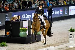Werth Isabell, GER, Emilio<br /> The Dutch Masters<br /> Indoor Brabant - 's Hertogen bosch 2018<br /> © Hippo Foto - Dirk Caremans<br /> 09/03/2018