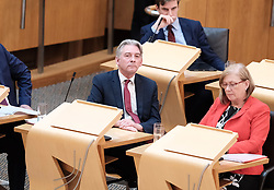 First Minister's Questions in the Scottish Parliament<br /> <br /> Thursday, 19th September 2019<br /> <br /> Pictured: Scottish Labour leader Richard Leonard<br /> <br /> Alex Todd | Edinburgh Elite media